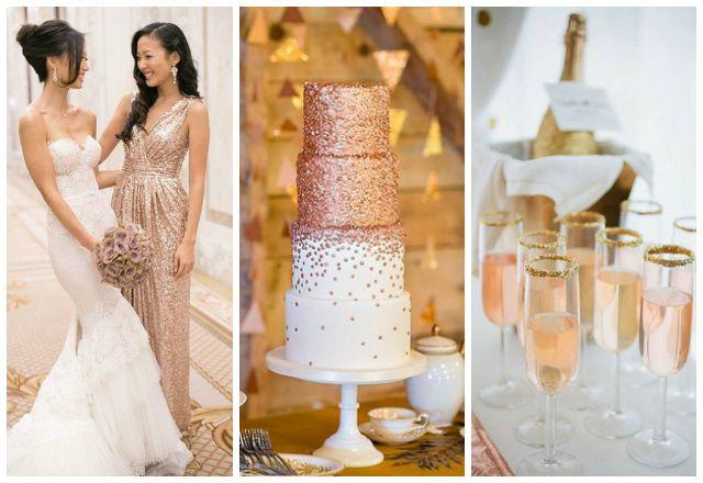 8 Amazing Rose Gold Wedding Ideas