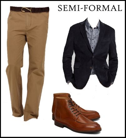how to wear pants to a fall wedding