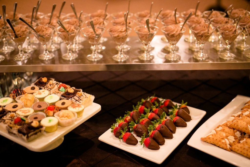 unique wedding desserts