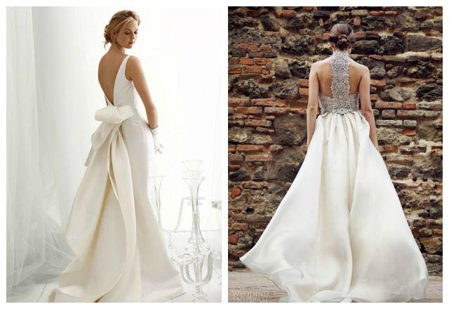 Stunning Back Of Wedding Dress Style