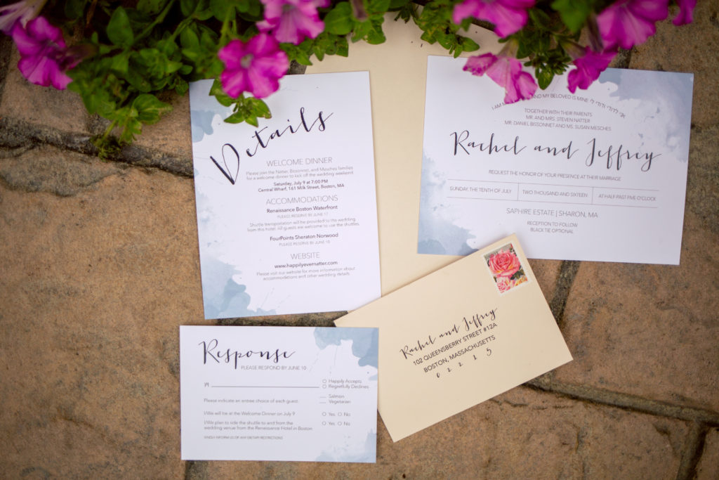 Wedding Invitation Etiquette: What to Send and When - Saphire ...