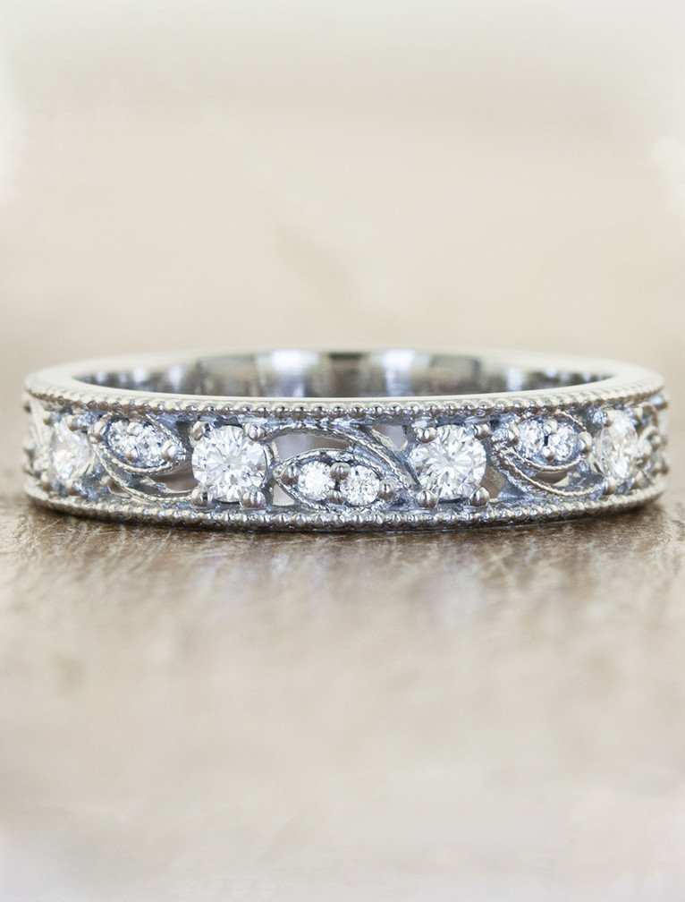 mix and match wedding rings vintage