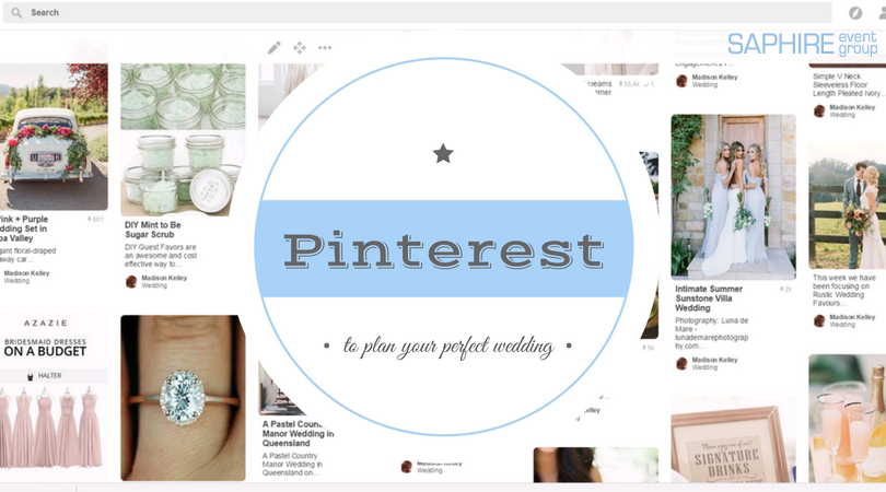 using pinterest to plan your perfect wedding