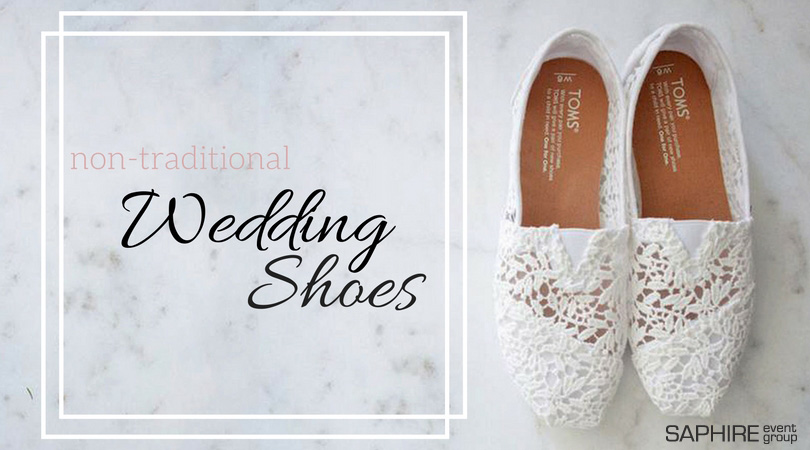 Non-Traditional Wedding Shoes: Options for Spring Brides