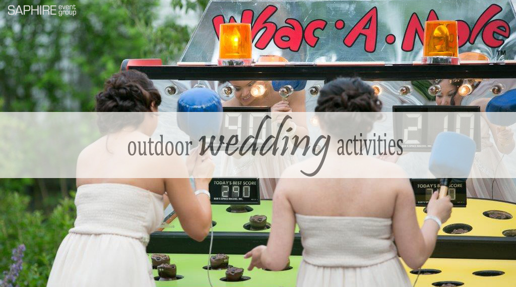 Summer Trends: Outdoor Wedding Activities