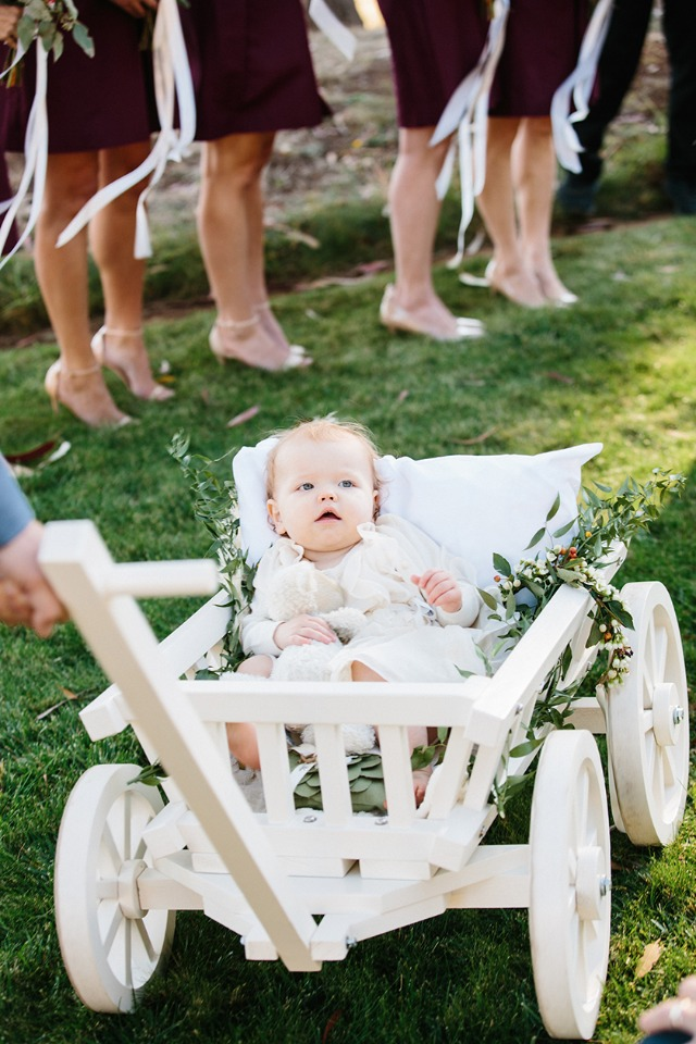 wedding traditions flower girl