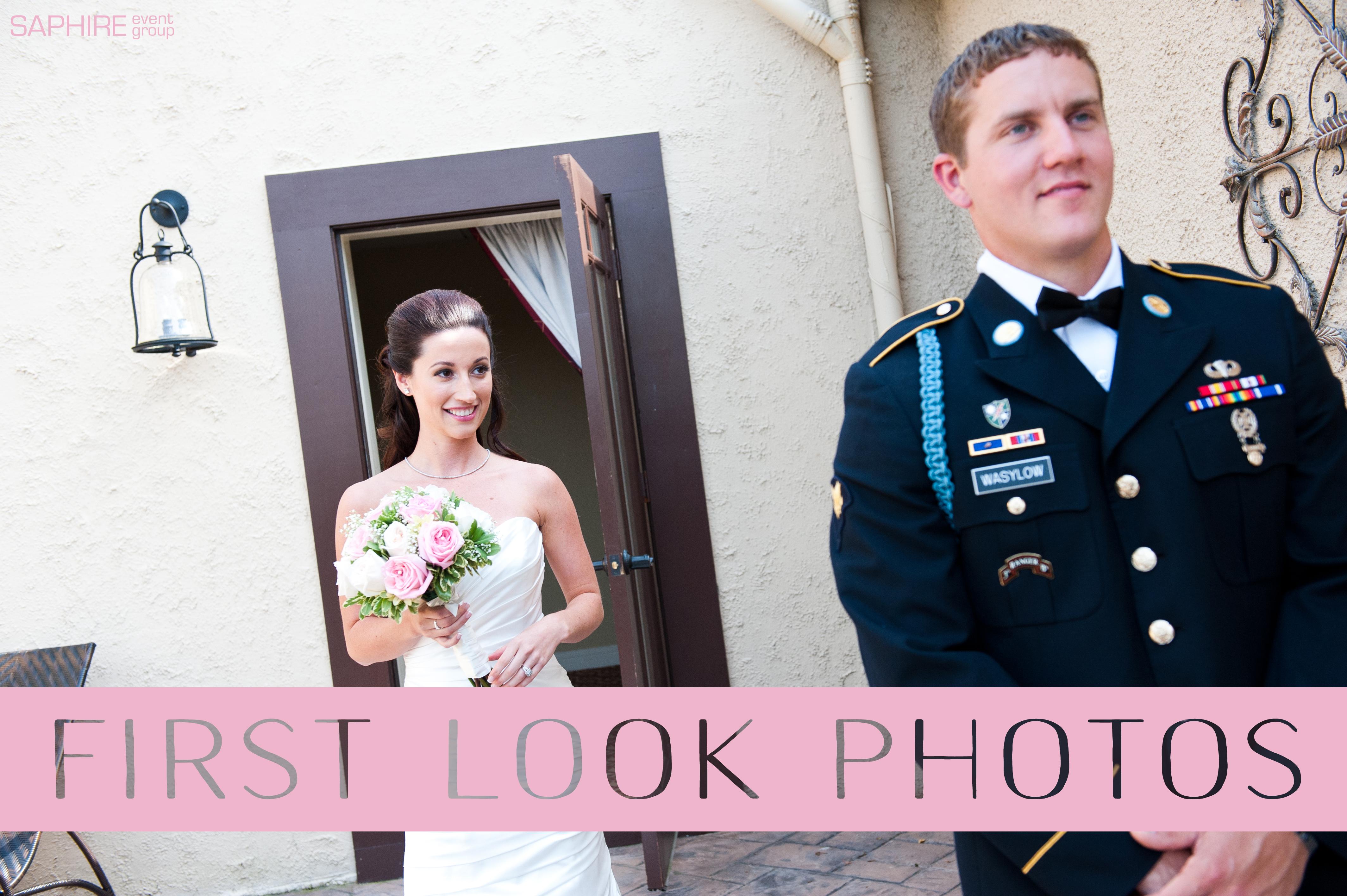 first look photos