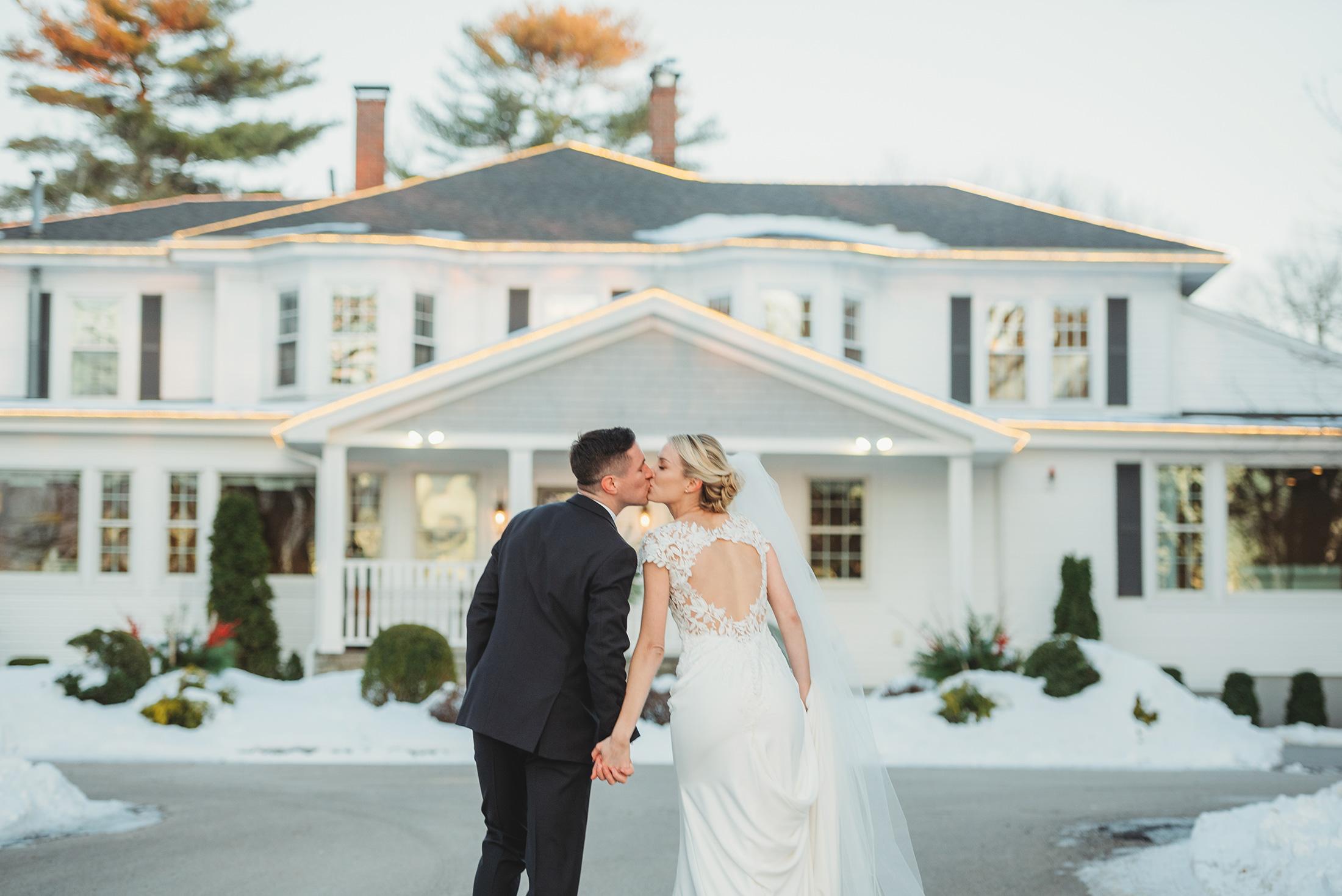 Gorgeous winter wedding at Saphire Estate near Boston