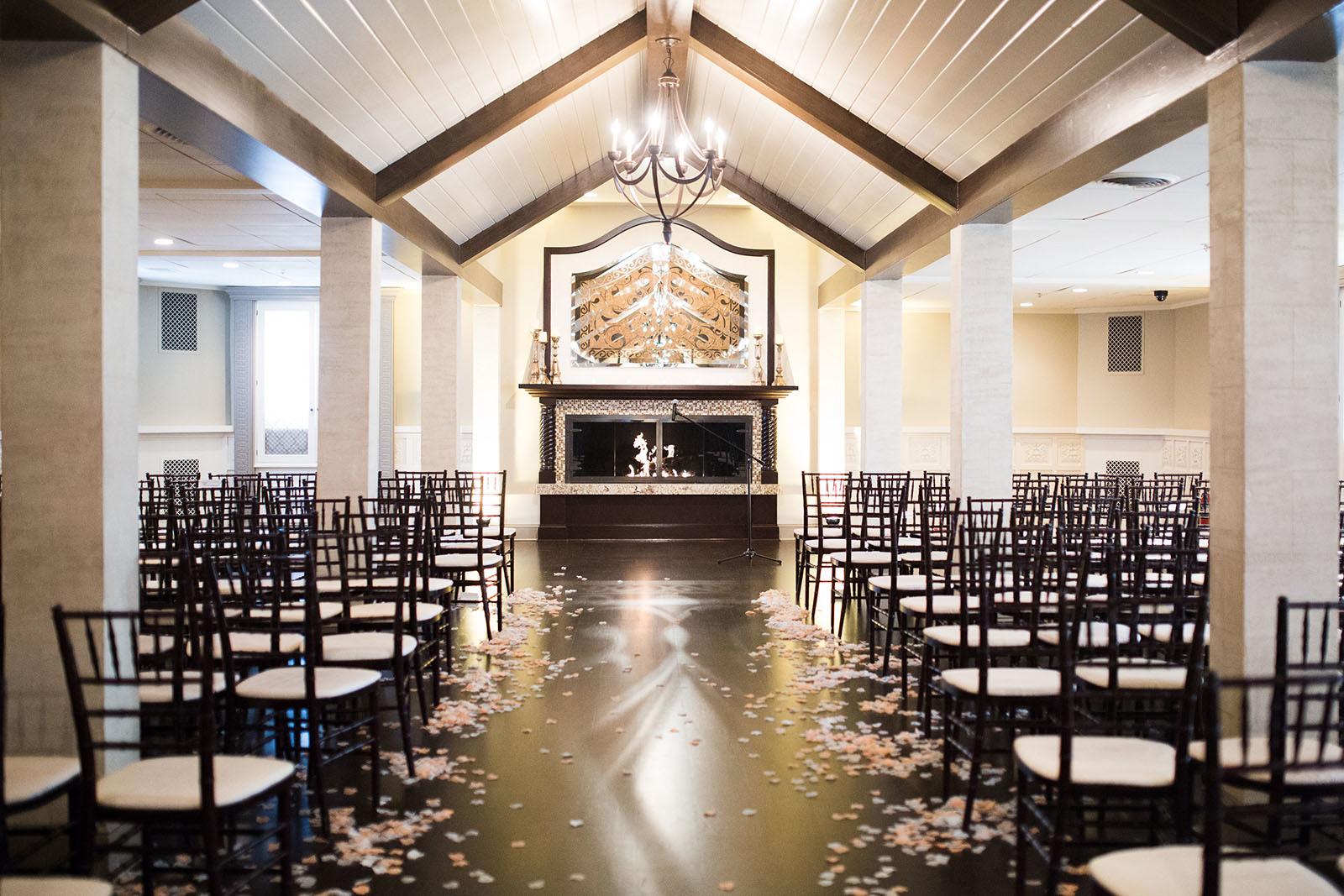 Indoor wedding ceremony venue East Bridgewater MA