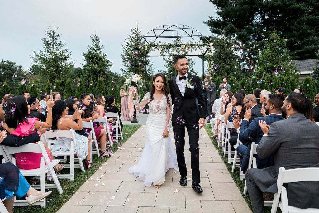 The Villa – Madera Ballroom | Outdoor wedding ceremony venue Boston