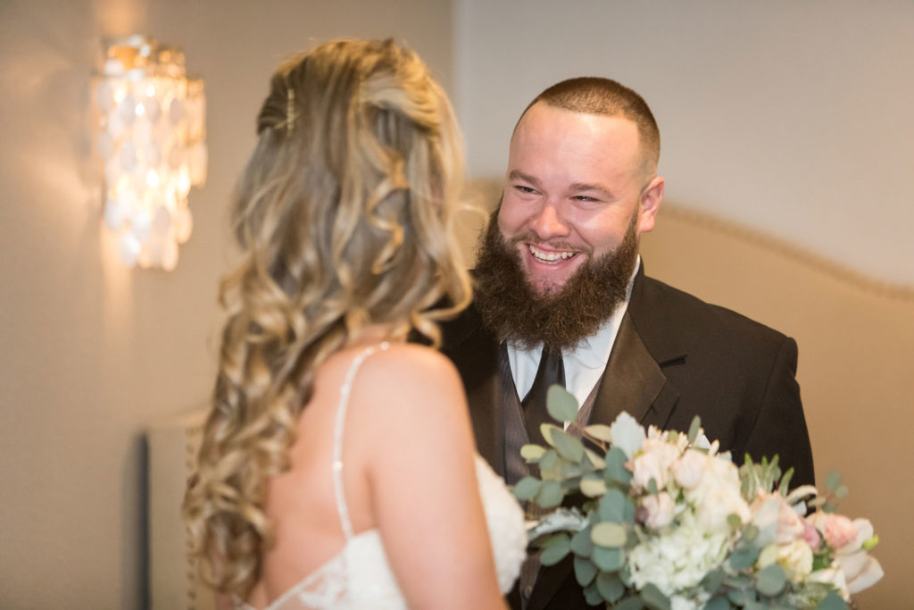 groom first look