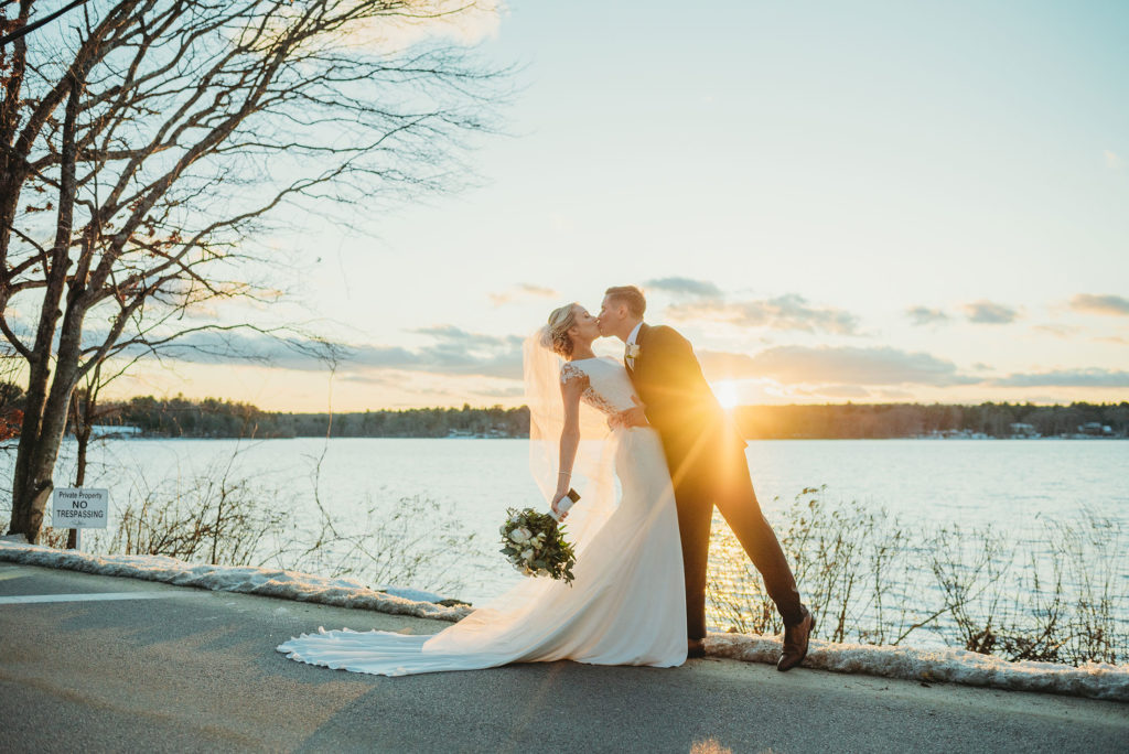 Boston winter wedding photo