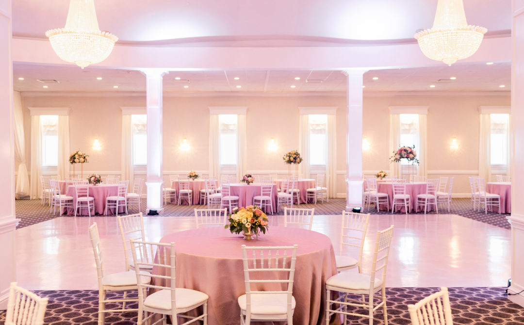 Avenir Walpole wedding reception