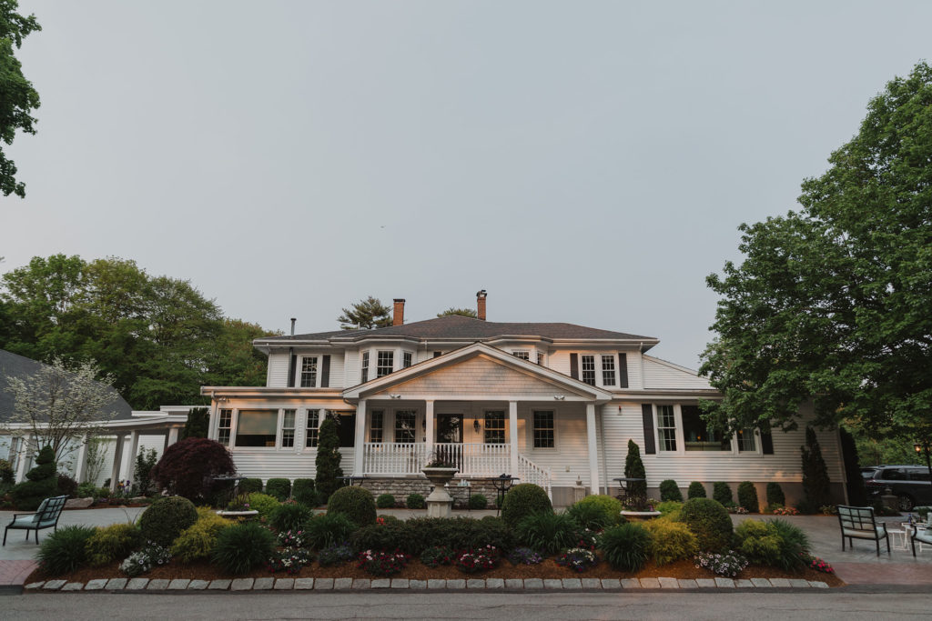front of estate