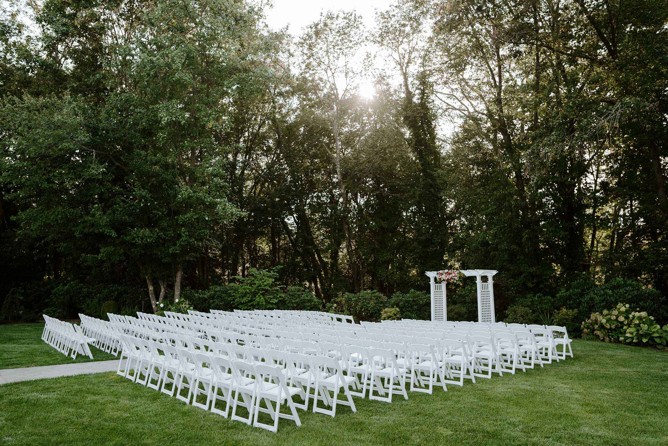Photography | Outdoor wedding ceremony venue near Boston