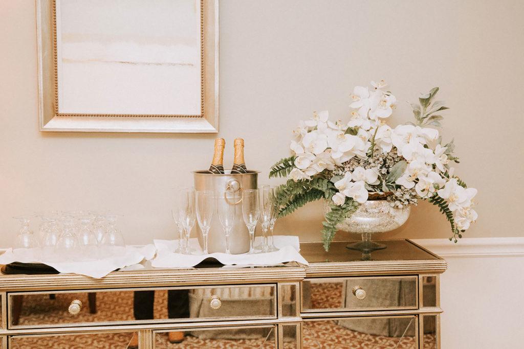 bridal suite champagne