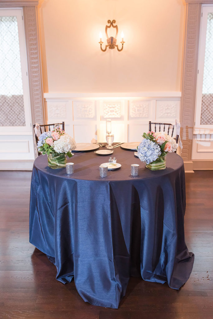 The Villa Madera August wedding Chris and Jason sweetheart table