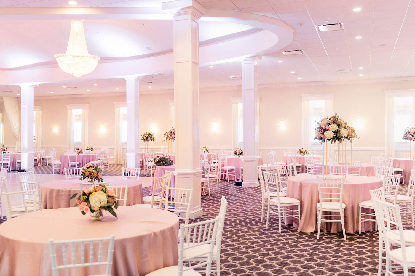 large wedding reception venue