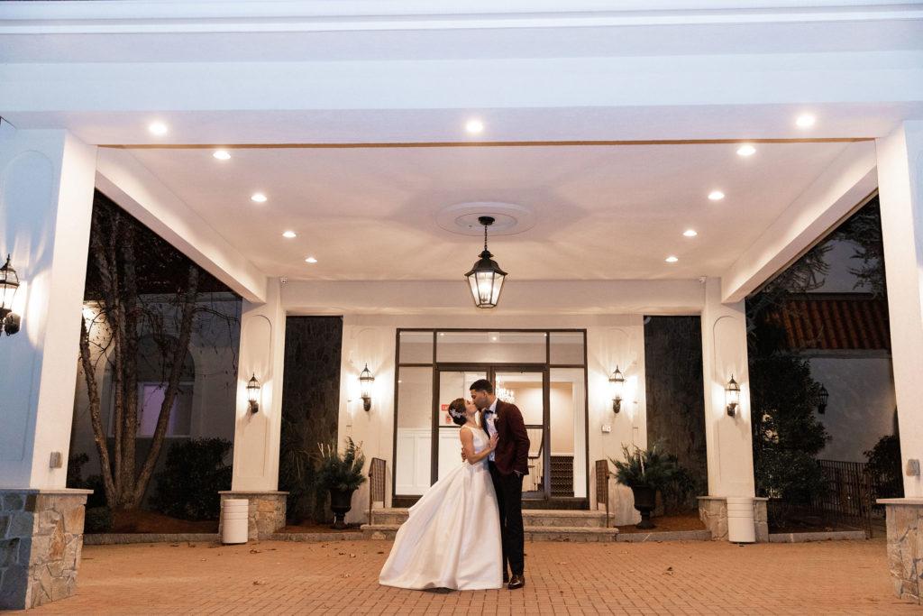wedding photo at Avenir Walpole