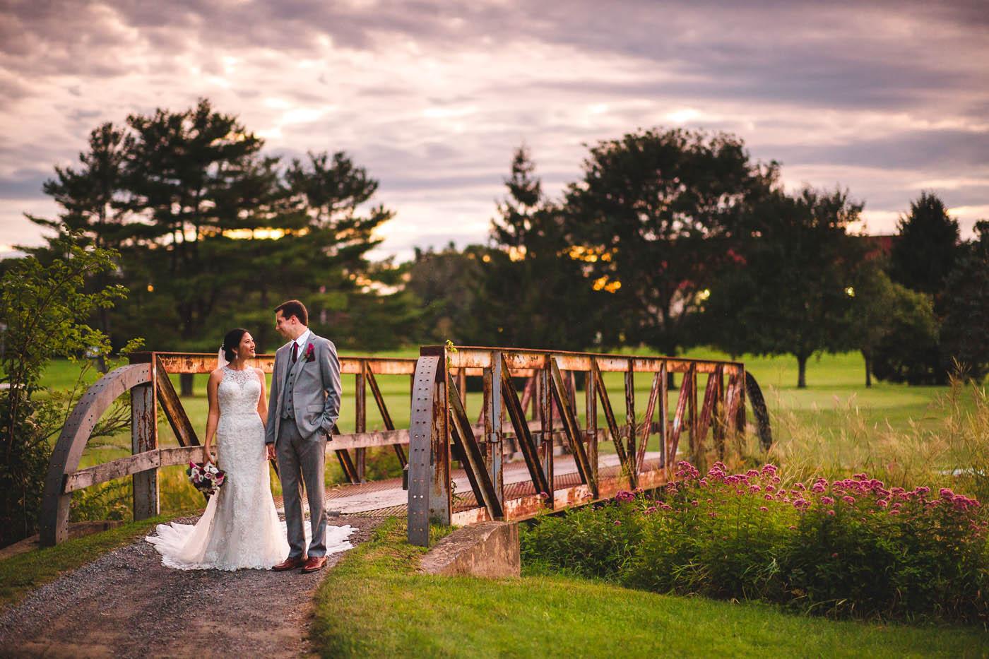 bridge photo location at The Villa