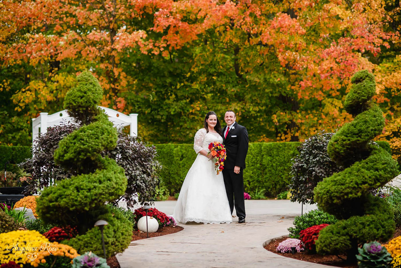 fall wedding venue in New England