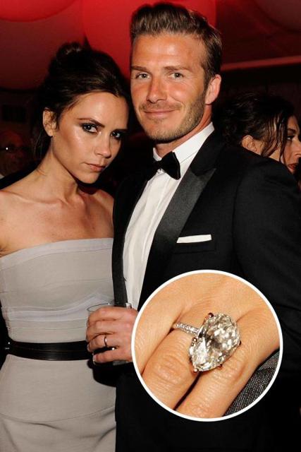 Hollywood's Best Celebrity Engagement Rings Victoria & David Beckham.jpg