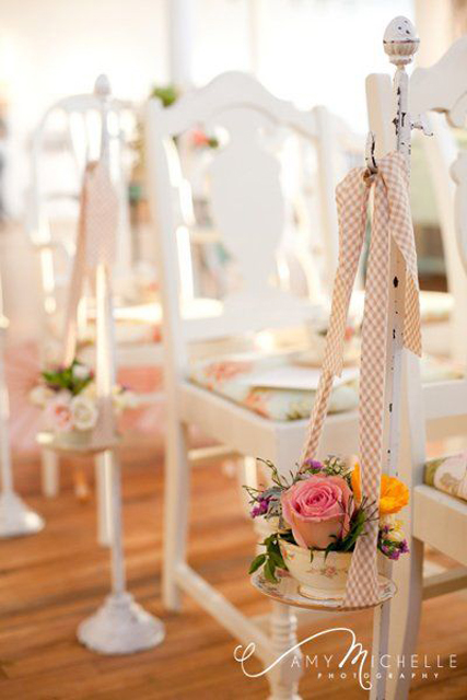 Vintage Decor Ideas Tea Party Wedding Inspiration