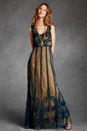 BHLDN: Indigo Mist Dress