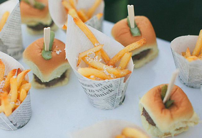 Unique Wedding Finger Foods