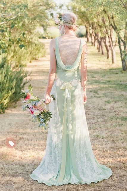 Colored Dresses Mint Green Wedding Gown.jpg