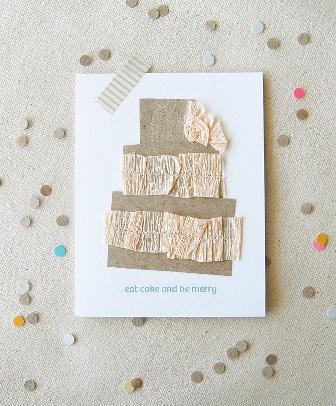 Eat Cake Invitation