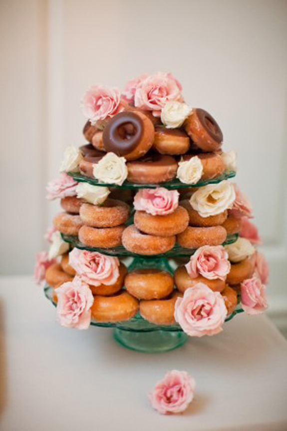 donut wedding