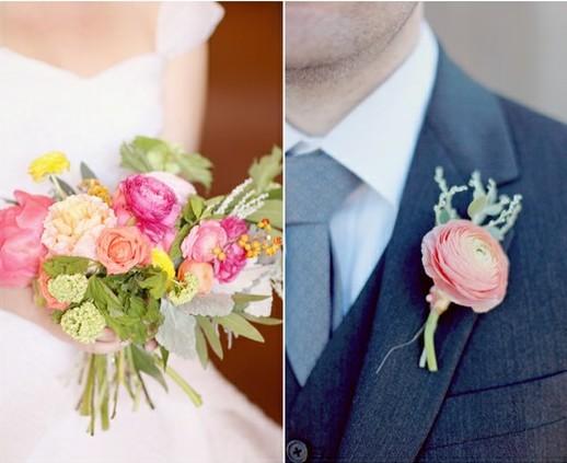 5 Flower Boutonnieres We Love