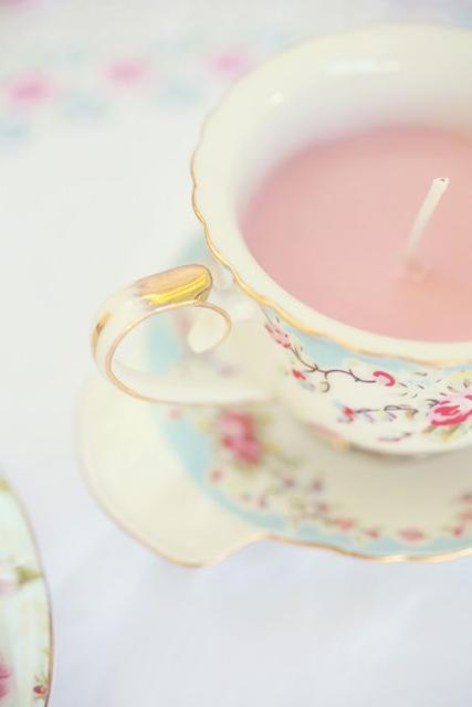 vintage decor ideas teacup candle.jpg