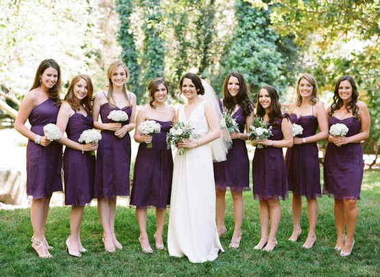 Wedding Traditions: Why Do All Bridesmaids Dresses Look Alike?
