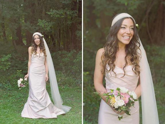 5 Beautiful Bohemian Wedding Veils