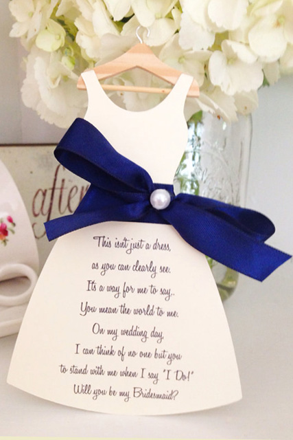 Creative Ways To Ask Your Bridesmaids 7 Jpg