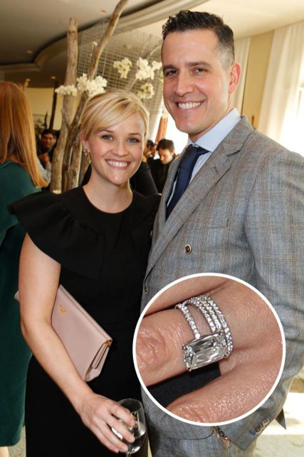 Hollywood's Best Celebrity Engagement Rings Reese Witherspoon & Jim Toth.jpg