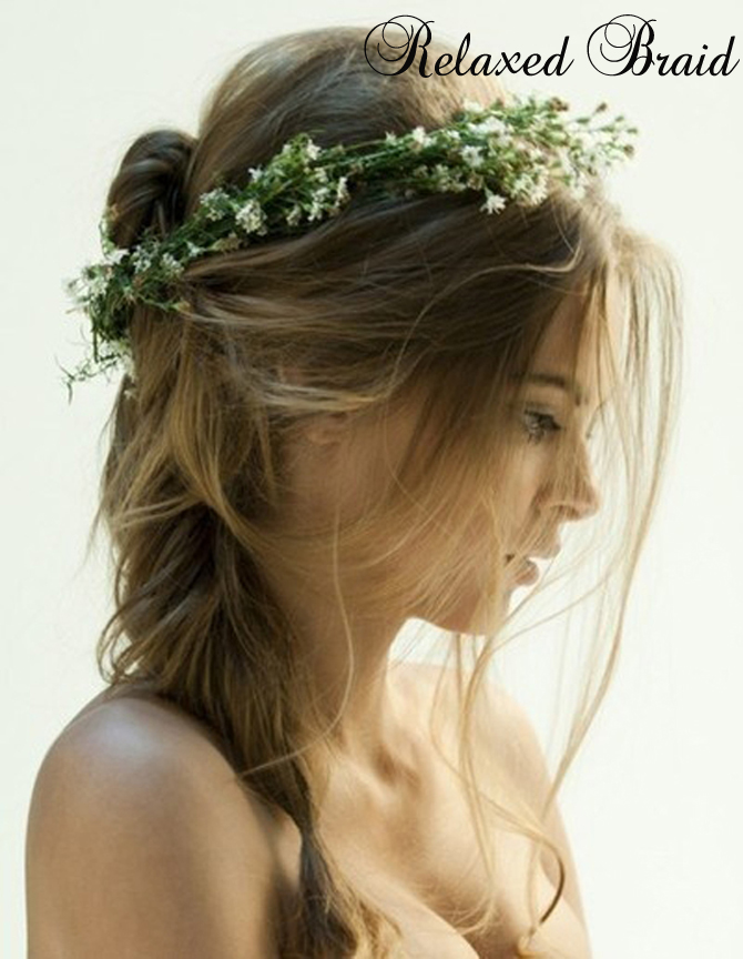 Six Ways To Simple Wedding Hair