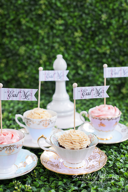 vintage decor ideas teacup cupcakes.jpg