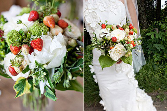 fruit wedding
