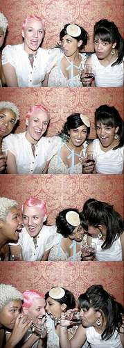 DIY Photobooth- Bridal Party