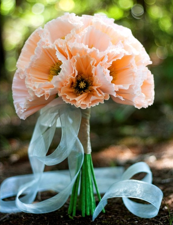 Paper Poppies Bouquet