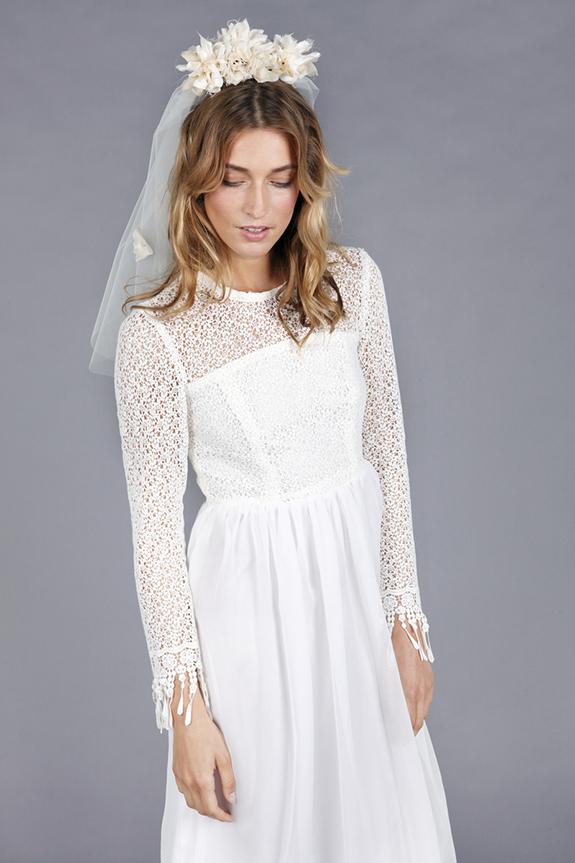 bohemian wedding veil