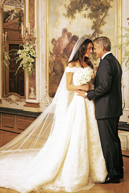 5 Favorite Celebrity Wedding Dresses 2014