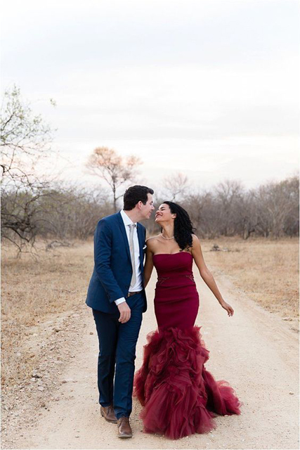 Colored Dresses Burgundy Wedding Gown.jpg