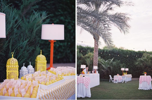 cocktail hour wedding themes