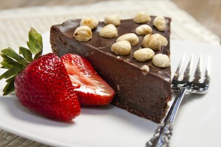 Nutella-Cake1Nutella Cake with Chocolate Hazelnut Ganache
